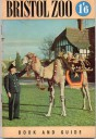 Bristol Zoo Guide 1952 - Dromedary and keeper giving rides to young visitors