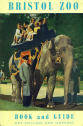 Bristol Zoo Guide 1964 - Asian Elephant and keeper giving rides to young visitors