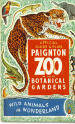 Paignton Zoo Guide 1952 - Leopard, Giraffe, Asian Elephant, Toucan, Crocodile