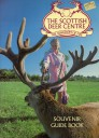Scottish Deer Centre Guide 1990 - Red deer and girl.